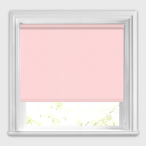 Neo Pale Pink Roller Blinds Made To Measure 50 Off