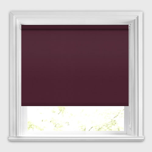 Neo Dim Out Burgundy Plum Roller Blinds Made To Measure