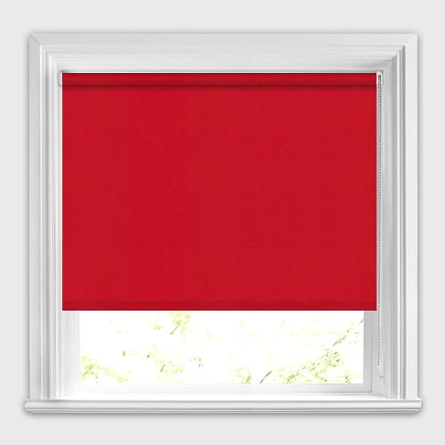 Neo Bright Red Roller Blinds Made To Measure 50 Off