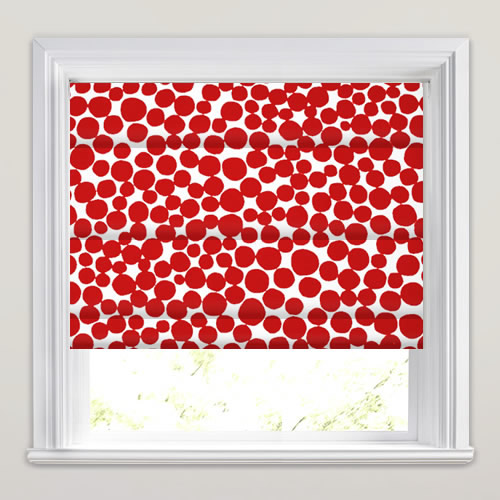 Fizz Ruby Roman Blind