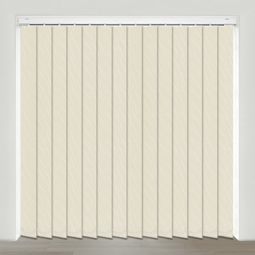 Vesi Cream Vertical Blind