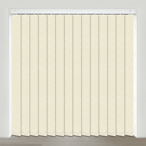 Mayfair Cream Vertical Blind