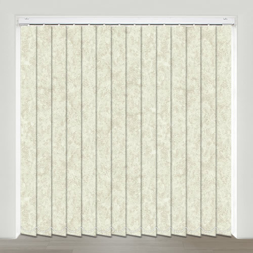 Spa Vanilla Vertical Blind