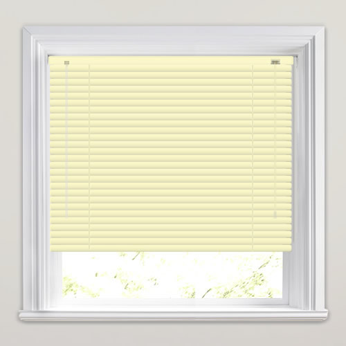 25mm Cream Venetian Blind