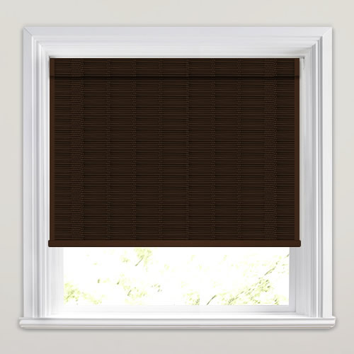Tobago Walnut Woven Wood Blind