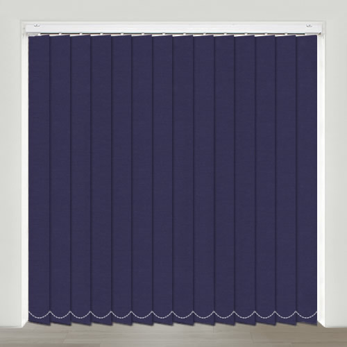 Sweet Dreams Indigo Vertical Blind