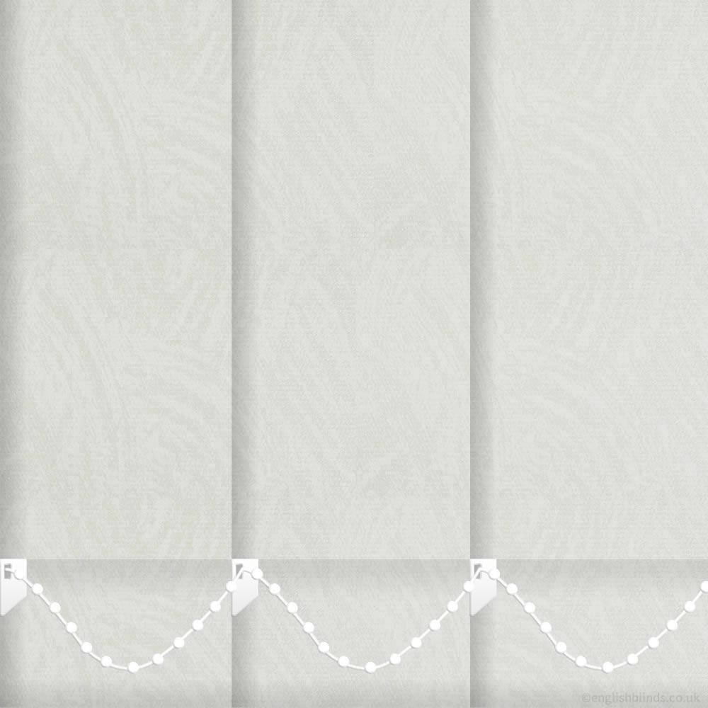 malabo cream vertical blinds made to measure english blinds. Black Bedroom Furniture Sets. Home Design Ideas