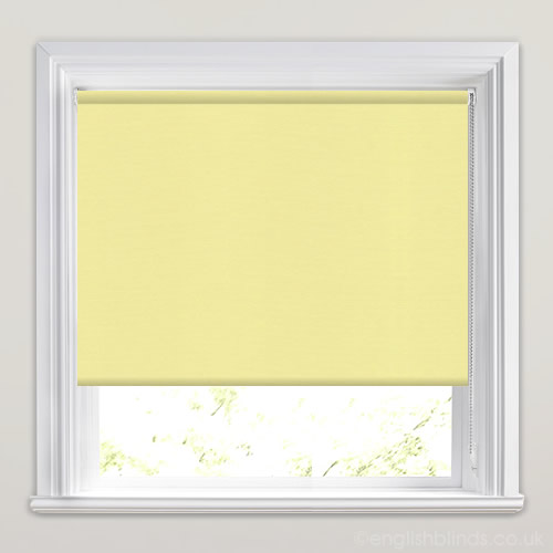Discount Pale Yellow Roller Blinds Direct Made To Measure