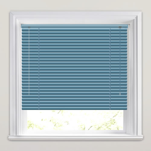 25mm Electric Blue Venetian Blind