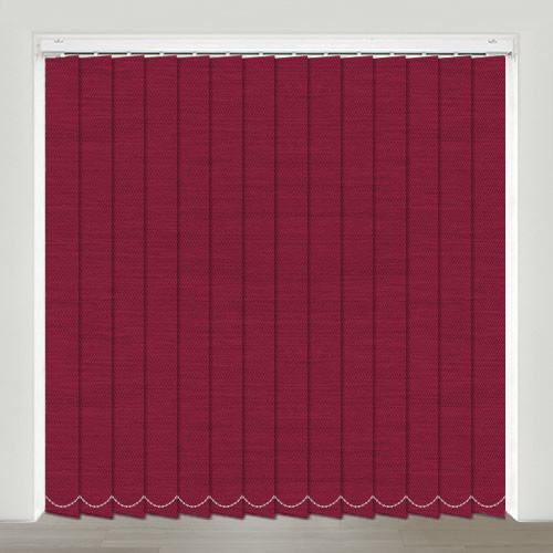 Bartlett Raspberry Vertical Blind