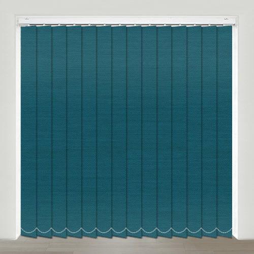 Bartlett Teal Vertical Blind