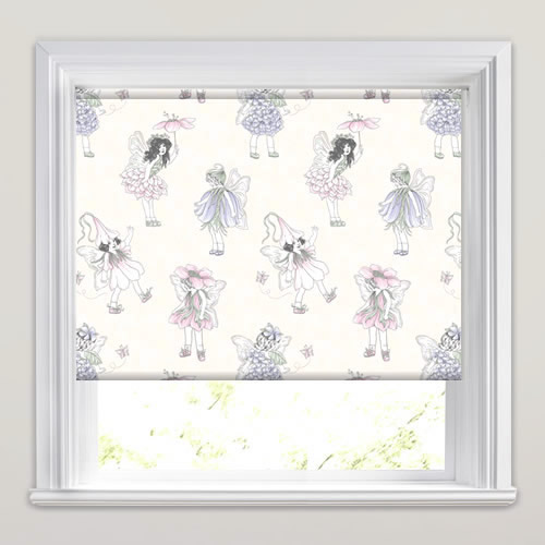 Flower Fairies Lilac Roller Blind