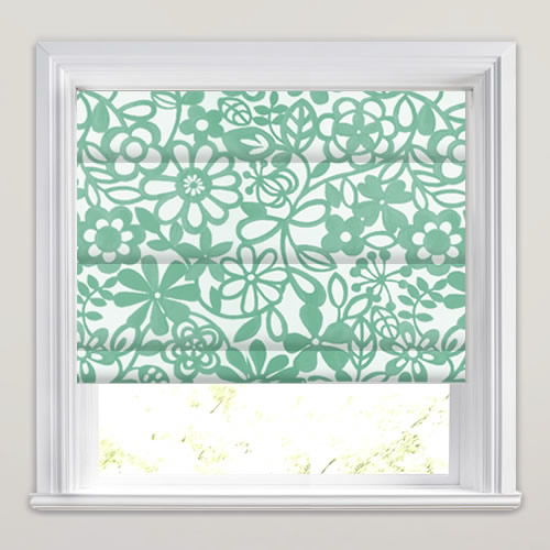 Collette Smoke Roman Blind
