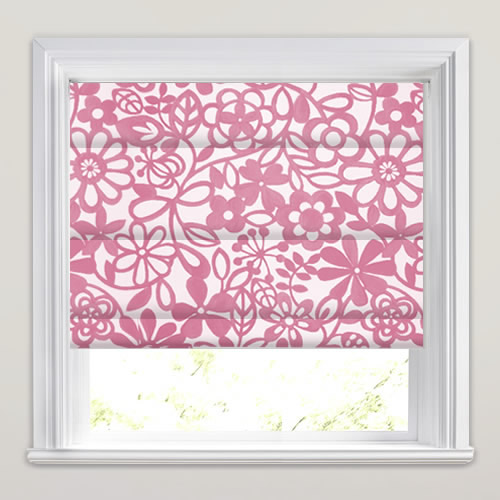 Collette Rose Roman Blind