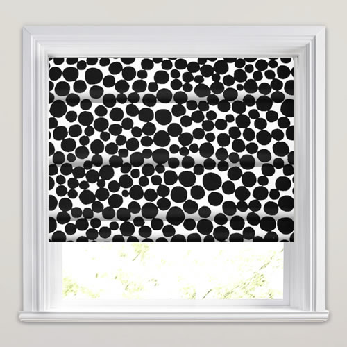 Patterned Roman Blinds Funky Amp Contemporary Black Amp White