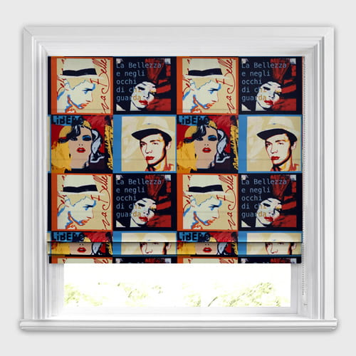 Pop Art Metropolitan Roman Blind