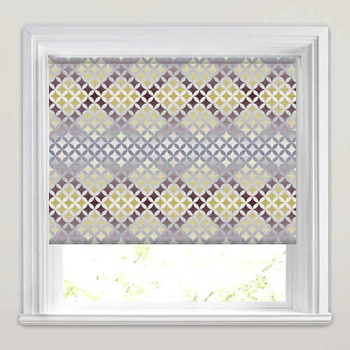 Twinkle Mink Patterned Roller Blinds
