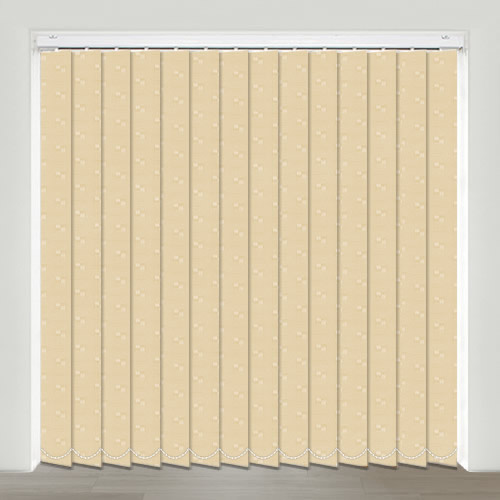 Mayfair Beige Vertical Blind