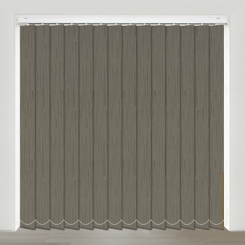 Kaseko Graphite Vertical Blind