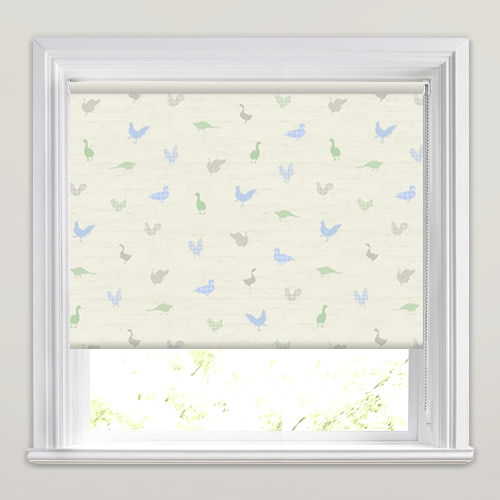 Birdies Bluebell Roller Blinds Made To Measure