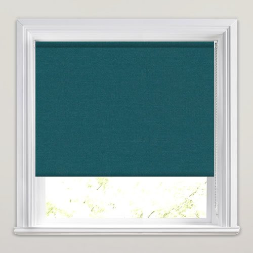 Deep Petrol Or Teal Roller Blinds Made To Measure