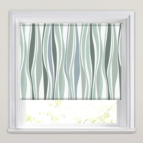 Kira Green Tide Roller Blind