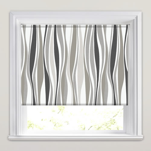 Kira Grey Harbour Roller Blind