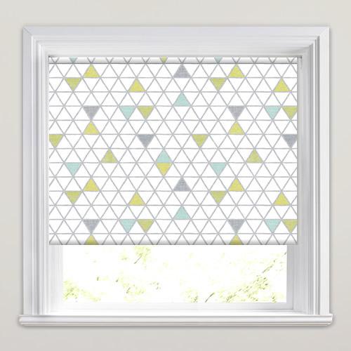 sofien slate patterned roller blinds. Black Bedroom Furniture Sets. Home Design Ideas