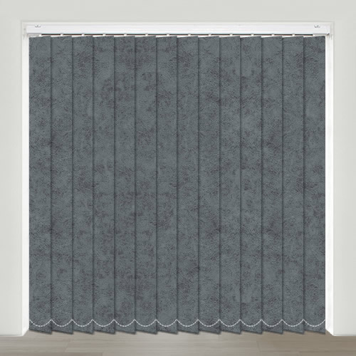 Spa Pewter Vertical Blind