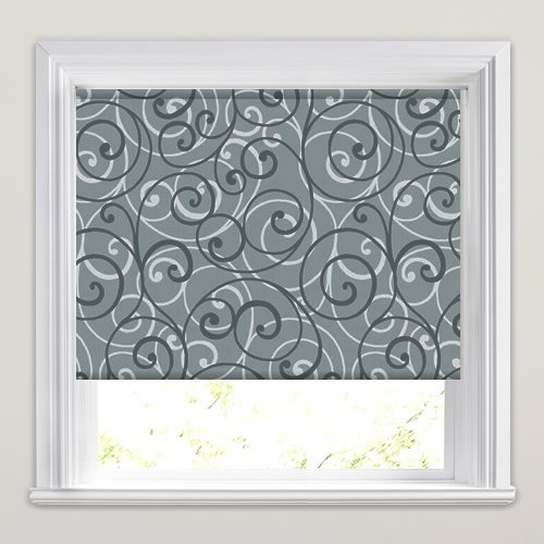 Scroll Fog Roller Blind