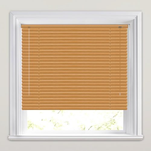 25mm Honey Venetian Blind