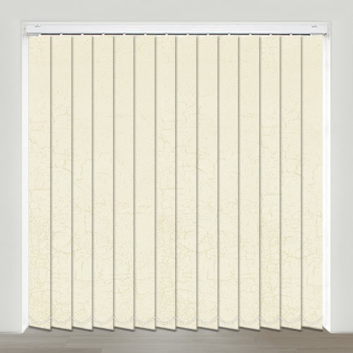 Planet Ivory Vertical Blind
