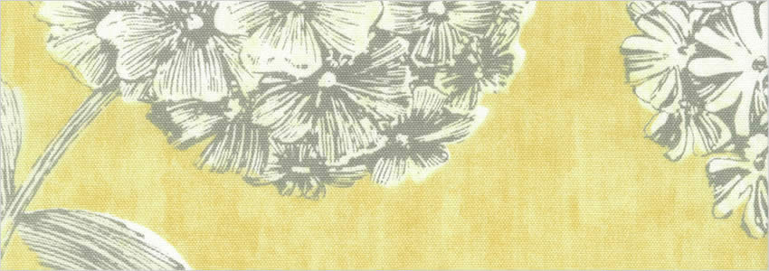 Luxury Large Printed Floral Grey Silver Amp Mustard Yellow