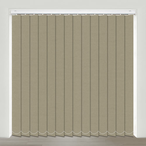 Gala Putty Vertical Blind