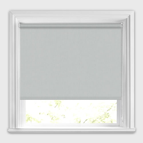 Light Grey Blackout Roller Blinds High Quality Made To