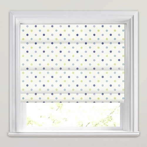 Millie Cornflower Roman Blind