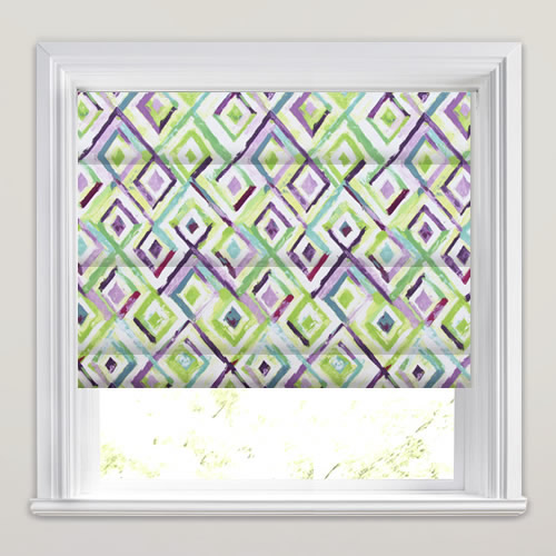 Sirocco Cassis Roman Blind