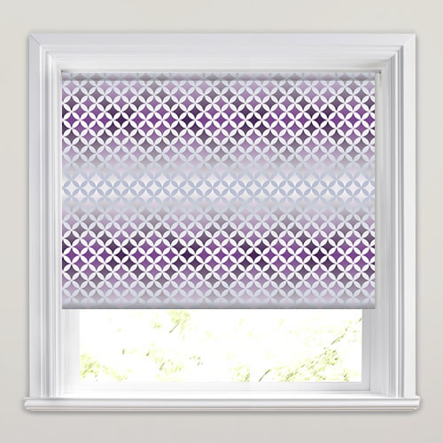 Twinkle Grape Roller Blind