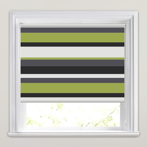 Luxury Lime Green Cream Black Amp Grey Striped Blackout