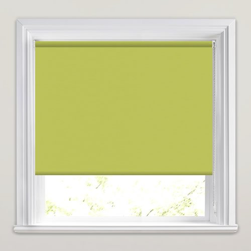 Lime Green Kitchen Blinds: Lime Green Blackout Roller Blinds, Made To Measure