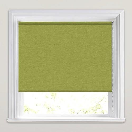 Lime Green Kitchen Blinds: Lime Green Textured Blackout Waterproof Roller Blinds