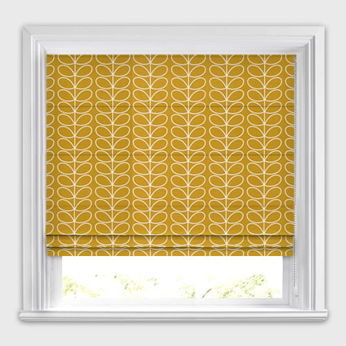 Linear Stem Dandelion Roman Blind