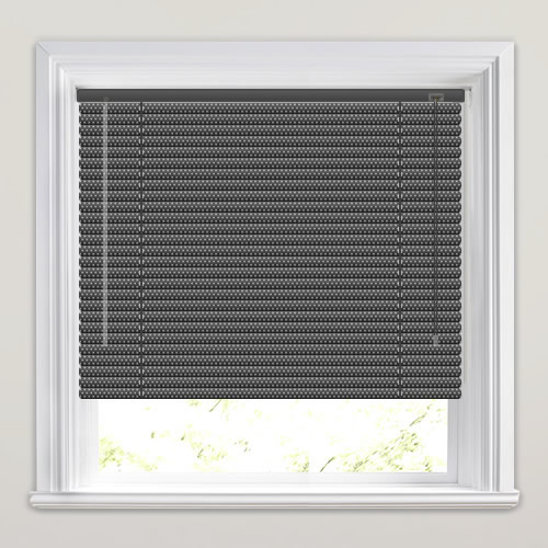 25mm Filter Black Venetian Blind