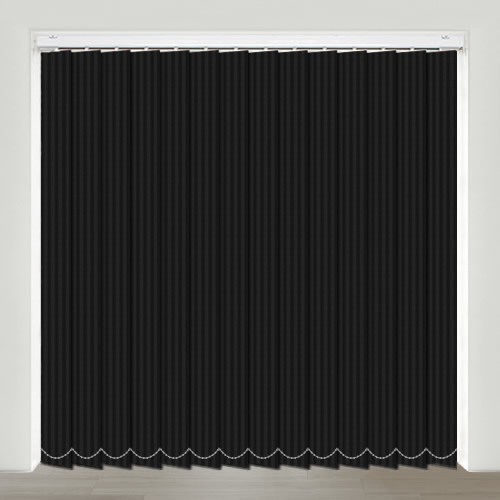 Faria Nero Vertical Blind