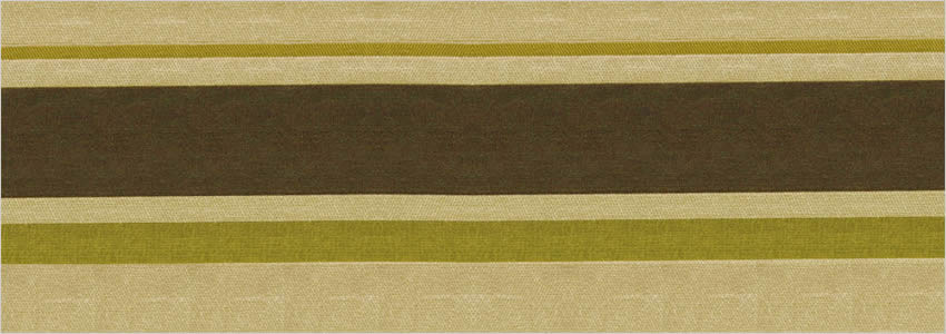 Cocoa Brown Silver Amp Olive Green Luxury Striped Curtains