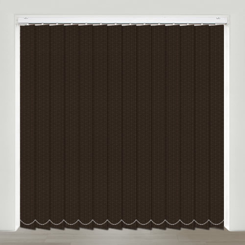 Romagna Chocolate Vertical Blind