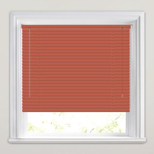 red window blinds red black 25mm paprika venetian blind luxury dark rust red blinds paprika maroon or burgundy