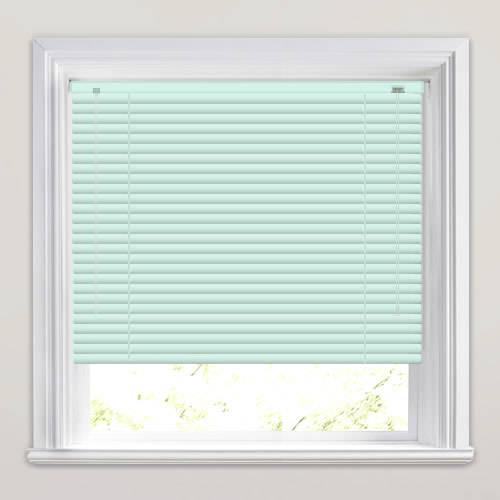 25mm Pastel Blue Venetian Blind