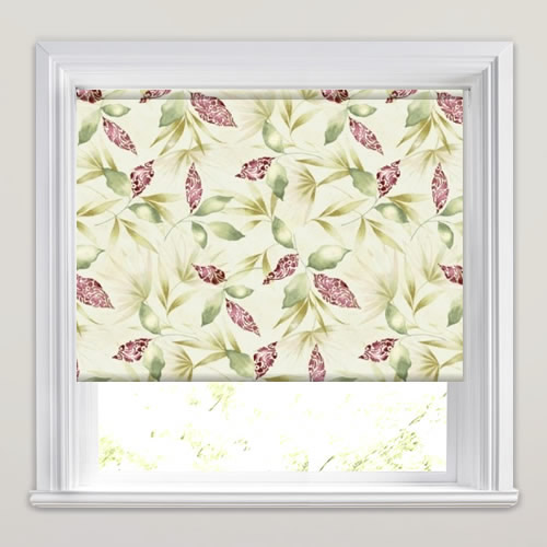 Watercolours Green Roller Blind