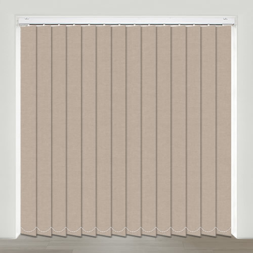 Sweet Dreams Hessian Vertical Blind